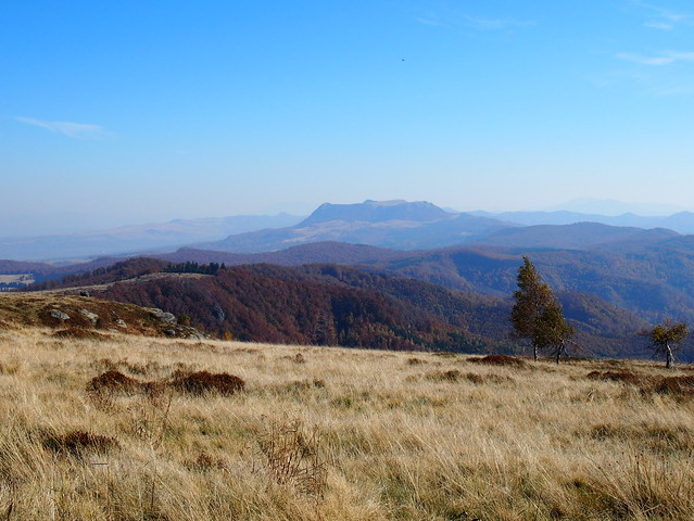 október a Gutinon / October on the Gutin mountains