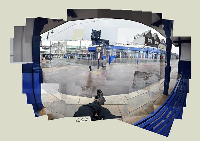 Classic British Summer #swanage #seafront #amusementarcade #rainyday