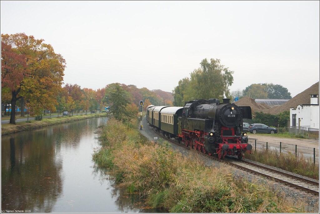 VSM 65 018 + lunchtrein, Apeldoorn