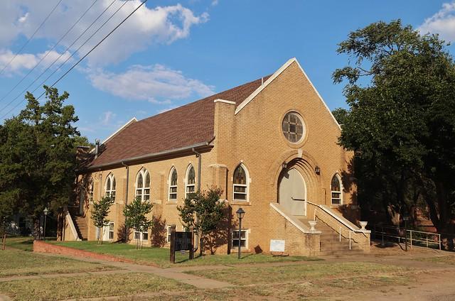 First Presbyterian Church in Clarendon Texas