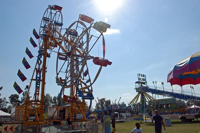 Big Rock's Sky Wheel In Motion.