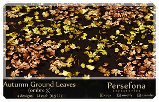 Persefona Autumn Ground Leaves (ombre 3)