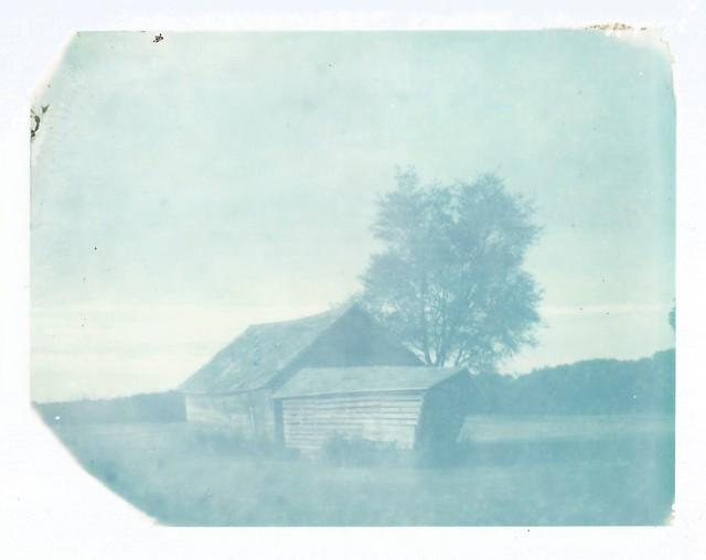 Polaroid Week Day One - The Old Corncrib
