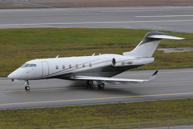 Bombardier BD-100-1A10 Challenger 300 SE-RMC 191020 BMA
