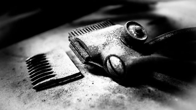 Old school haircut