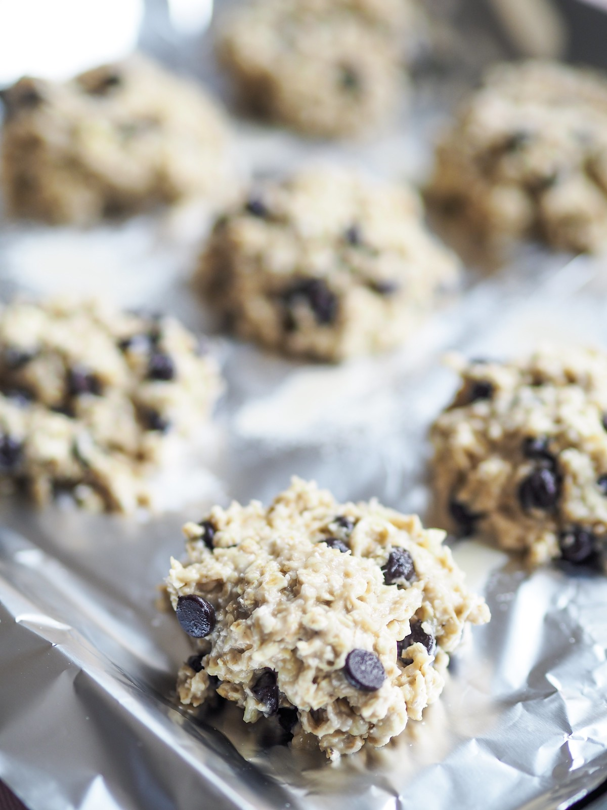 two ingredient banana and oat cookie recipe
