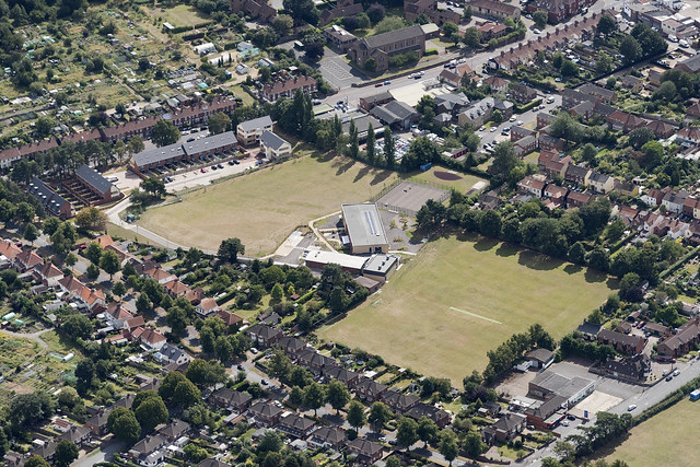 St Clements Hill Primary Academy - Norwich aerial image