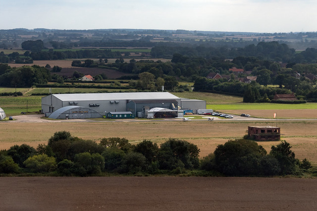 The Light Aircraft Company in Little Snoring - Norfolk UK aerial image