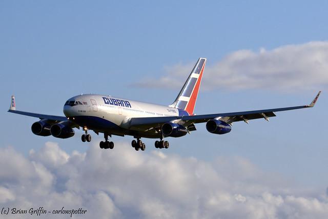 CU-T1250 | Cubana | Ilyushin Il-96-300 | EIDW | 20-10-2019