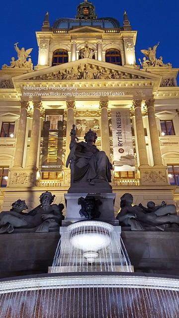 Prague, national museum