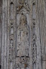 C15 south door: St Peter?
