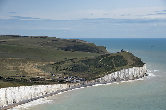 Birling Gap & the Seven Sisters - aerial image