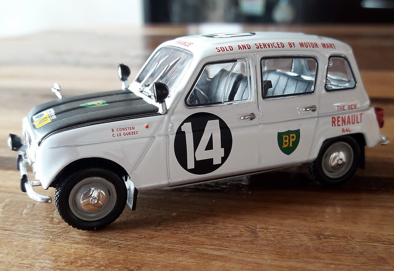 Renault 4 - East African Safari - 1962