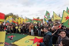 Zaterdagmidag 19-10-2019 Koerden protest