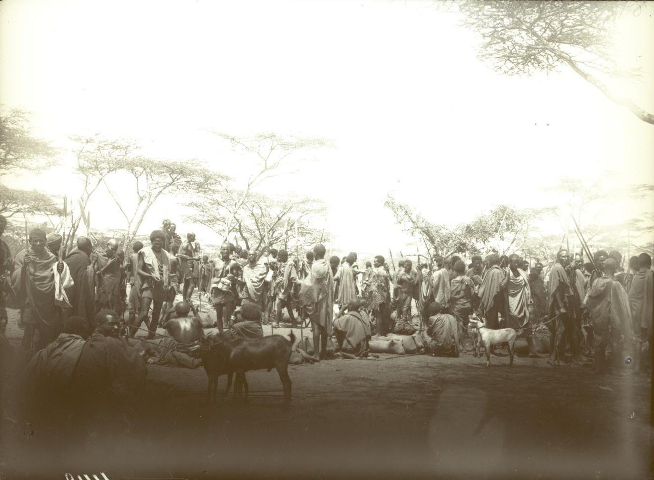 448. Район Гедда-Марокко. Базар в Батте