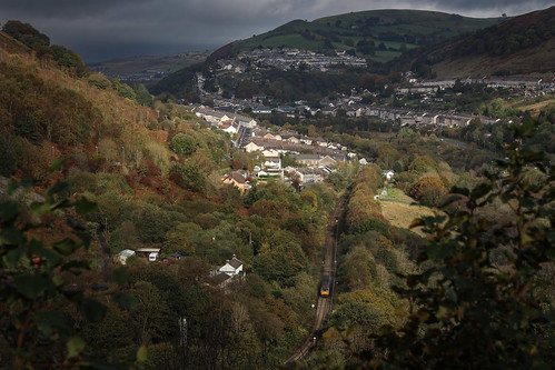 rhymney valley pacer wales railway