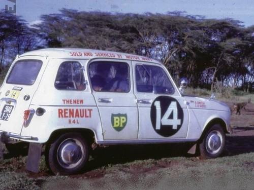 Renault 4 - East African Safari - 1962