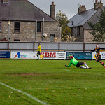 Declan Milne fires in the opening goal