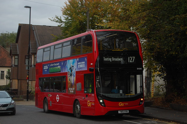 *RARE* EH340, YW19VVN on 127 in Purley