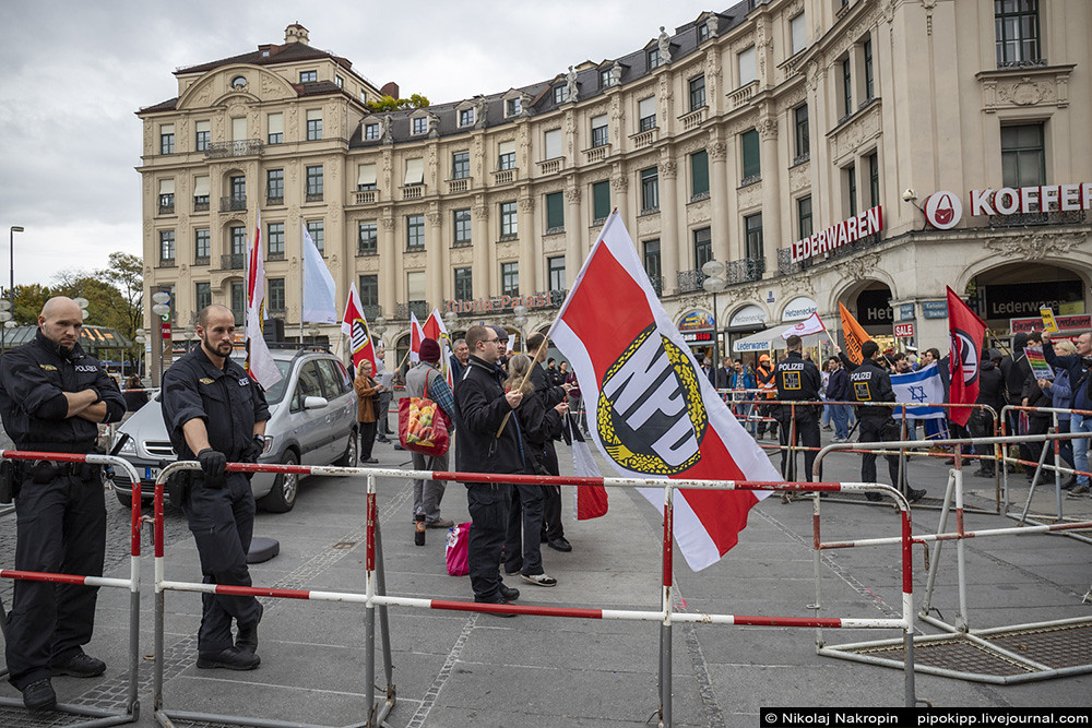 Нацистская демонстрация невероятных размеров в Мюнхене