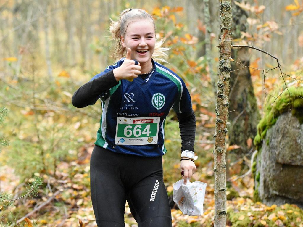 Finnish ultra long orienteering championships (Hakunila, Vantaa, 20191020)