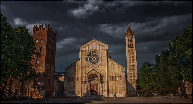 Basilica de San Zenón. Verona.