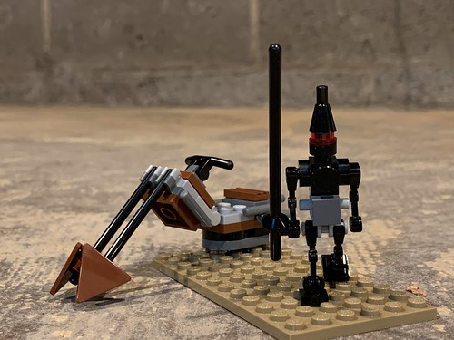 Lancer droid