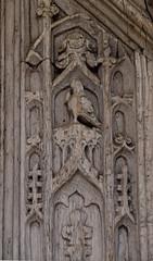 C15 south door: Eagle of St John