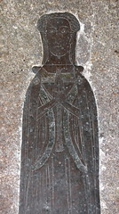 lady in a mantle, possibly Katherine wife of Sir William Tendring, 1402