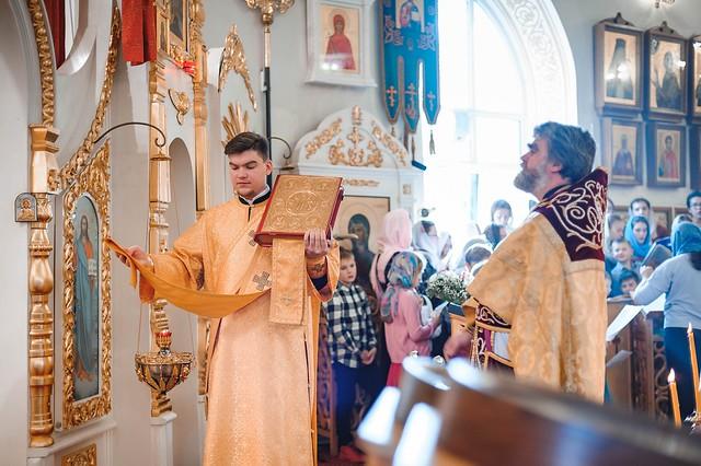 20 октября 2019 г. Воскресная Божественная Литургия.