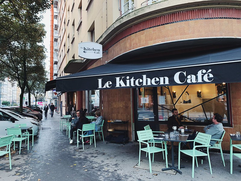 Le Kitchen Cafe Lyon kahvila