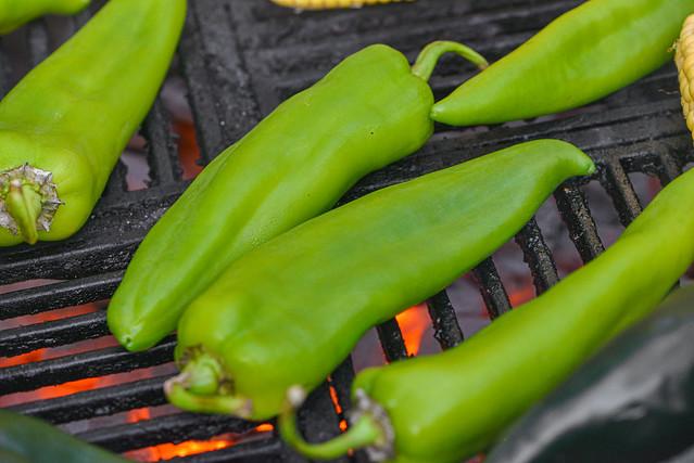 Charred Corn & Green Chili Queso