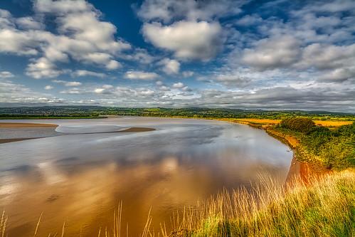 severn riversevern river gloucestershire hdr d7100 5xp