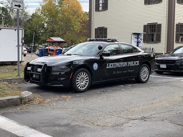 Lexington, MA Police Dodge Charger