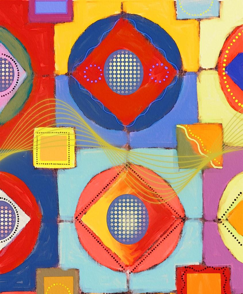 Grandmother's quilt