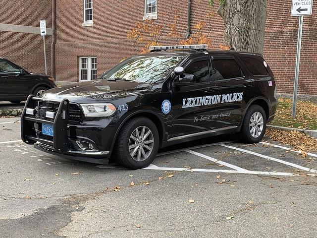 Lexington, MA Police Dodge Durango