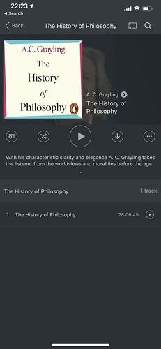 Audiobook Player Screenshot