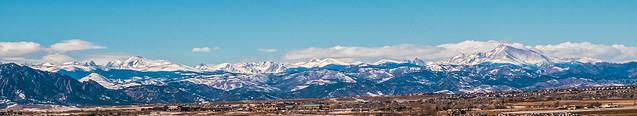 Colorado Front Range with Long's Peak