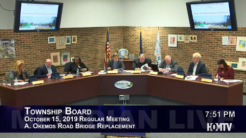 Township Board Revisits Okemos Road Bridge Replacement Project