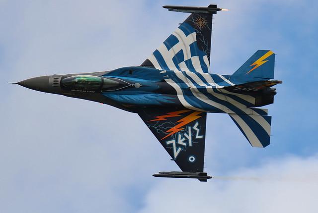 Hellenic Air Force F-16 Demo Team «Zeus> riat 2016