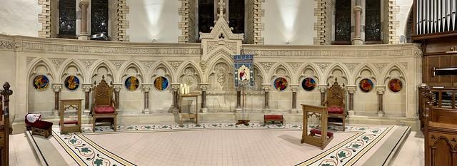 Chancel #Arches in St. Thomas' Church, Belfast
