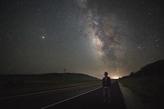 Head in the stars