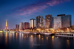 Parisian Sunset city of lights