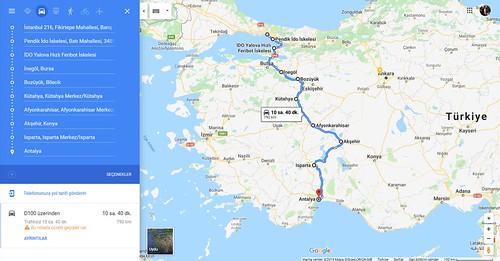 antalya istanbul motosiklet turu