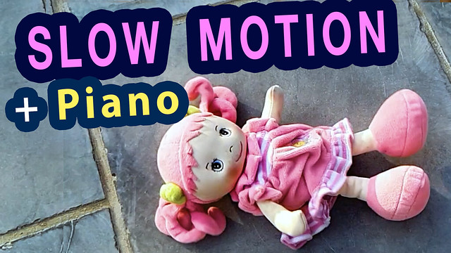 Video: Slow Motion compilation with original piano music by Ben Heine (Youtube Video)