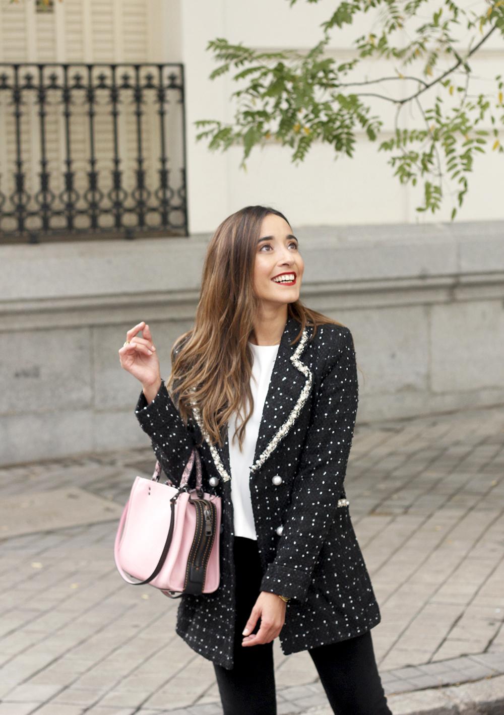 survêtement veste sac de survêtement jeans noir costume de style de rue 20199
