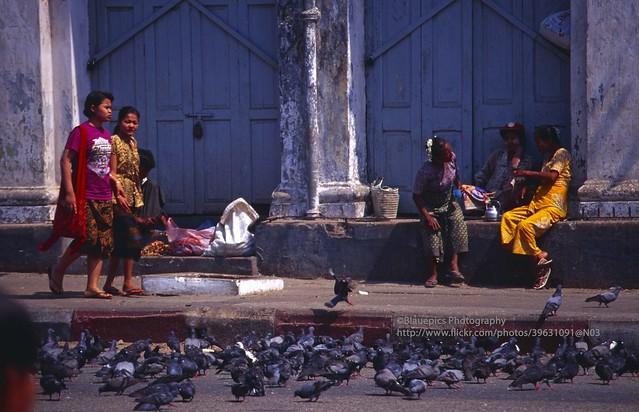 Yangon, street scene