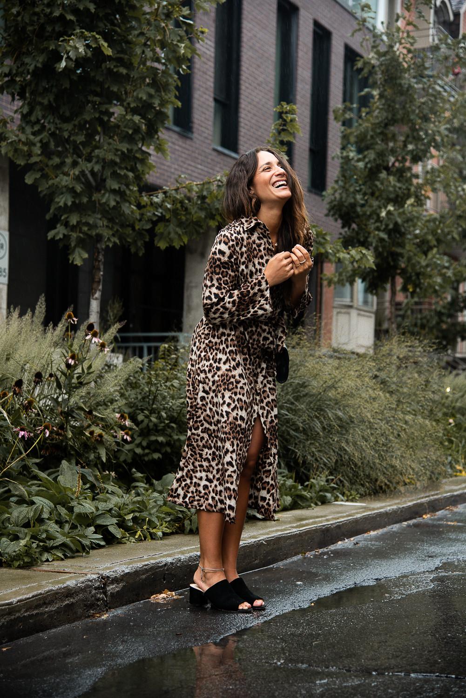 camille dg robe léopard