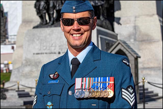 Sargeant D'Anjou on Duty