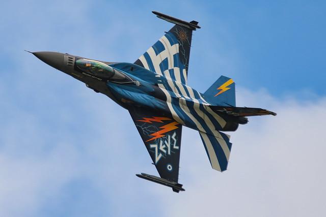 Hellenic Air Force F-16 Demo Team «Zeus» riat 2016